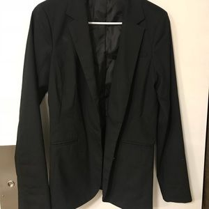 Mossimo long black blazer